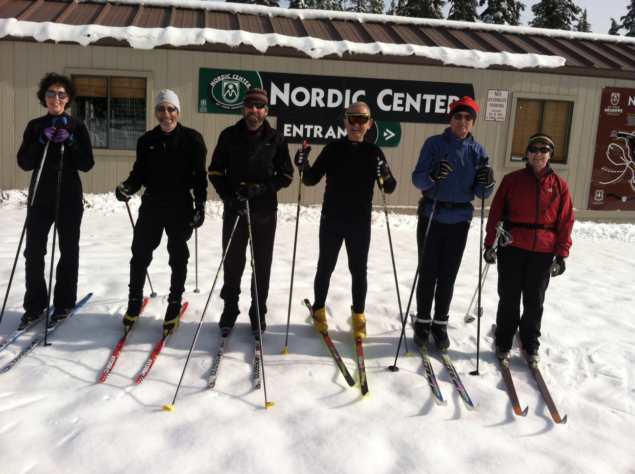 Cross Country Ski Season on Mt. Hood Begins!